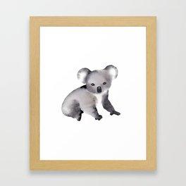 Cute Koala - Australian Animal Framed Art Print