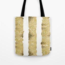 Tiki Totems – Gold Palette Tote Bag