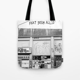 Fickt euch allee Tote Bag