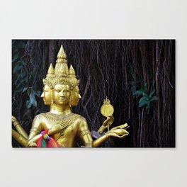 Sculpture | Art | Chiang Mai | Thailand Canvas Print