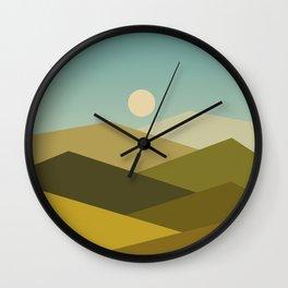 Landscape NC 02 Wall Clock
