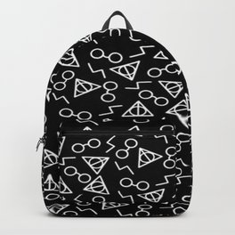 death hallow pattern Backpack