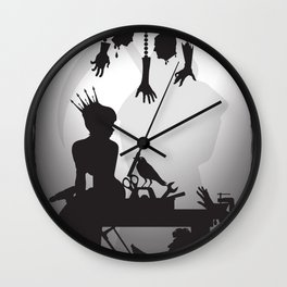 You're One Of Them, Aren't You? Dark Romance Valentine Wall Clock