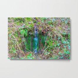 Fairy Waterfall Metal Print