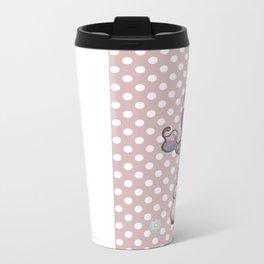 Marshmallow Metal Travel Mug