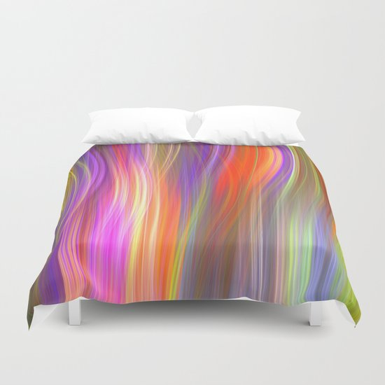 Colour streams II Duvet Cover