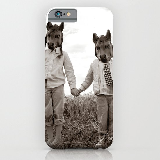 Sister and Brother iPhone & iPod Case