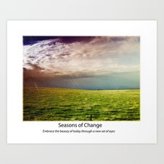 Seasons of Change Art Print