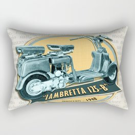 LAMBRETTA 125 B Rectangular Pillow
