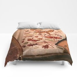 Vintage Insects 2 Comforters