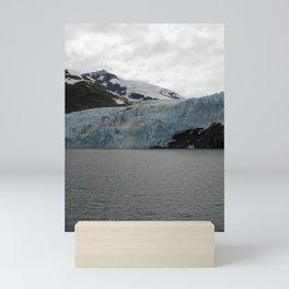 TEXTURES -- A Face of Portage Glacier Mini Art Print