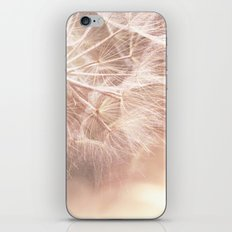 Pink Macro (2) Dandelion Flower - Floral Nature Photography Art and Accessories iPhone & iPod Skin