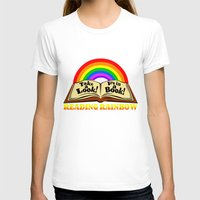 reading T-shirts featuring READING RAINBOW by Silvio Ledbetter