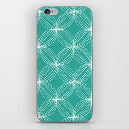 Star Pods - Aqua iPhone Skin
