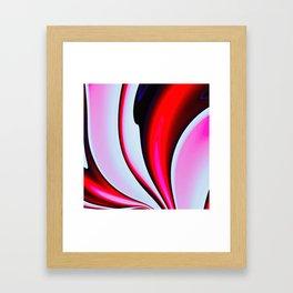Abstract Fractal Colorways 02BPk Framed Art Print