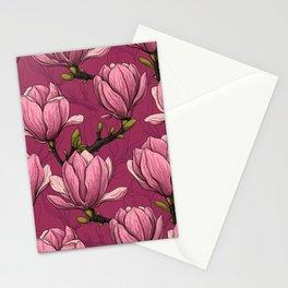 Magnolia garden Stationery Cards