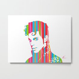 Artist formally known as... | Pop Art Metal Print