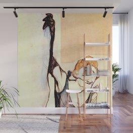 "Henri de Toulouse-Lautrec ""Yvette Gilbert before the curtain"" Wall Mural"