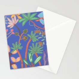 Jungle Klein Blue Stationery Cards