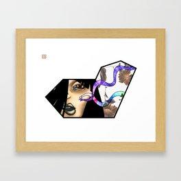 Wavelength Framed Art Print