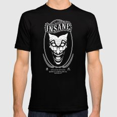 Insane Whiskey Mens Fitted Tee Black X-LARGE