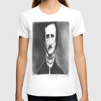 edgar allan poe T-shirts featuring Edgar Allan  Poe by dcsoccer10