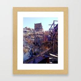 Ballarat Ghost Town Framed Art Print