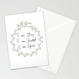 Meditation Mantra SBC - Positive affirmations Stationery Cards