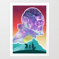 starlord Art Prints featuring Starlord...Who? by DamianSantamaria