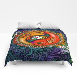 Yin Yang Koi Comforters