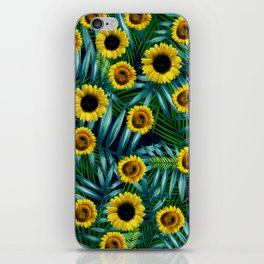 Sunflower Party #2 iPhone Skin