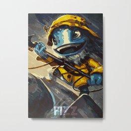 Fizz Metal Print