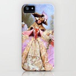 Victorian Masquerade Ball iPhone Case