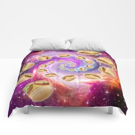 Spiral Galaxy of Burgers  Comforters
