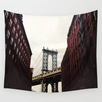 dumbo Wall Tapestries featuring DUMBO by Britannie Bond