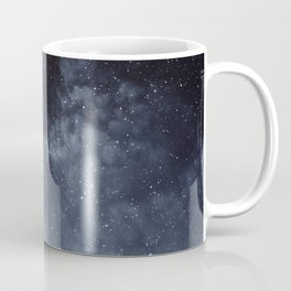 Blue veiled moon Coffee Mug