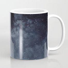 Blue veiled moon Coffee Mug