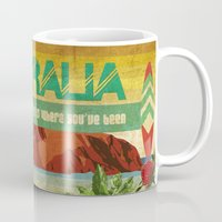 australia Mugs featuring Australia by LilianaPerez