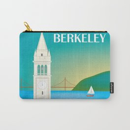Berkeley, California - Skyline Illustration by Loose Petals Carry-All Pouch