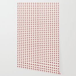 AFE Chocolate Strawberries Pattern Wallpaper