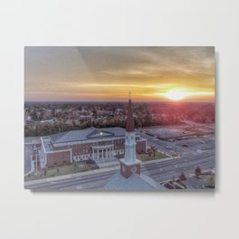 Sunrise over Cullman County Courthouse  Metal Print