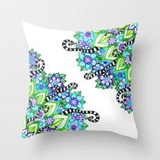 Sharpie Doodle 5 Throw Pillow