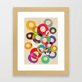 Loop Hoop Framed Art Print