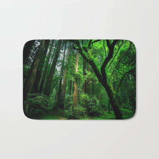 Enchanted forest mood II Bath Mat