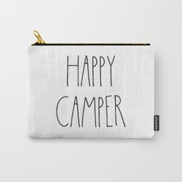 Happy Camper text Carry-All Pouch
