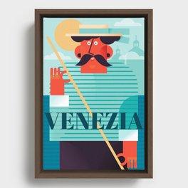 Venezia Framed Canvas