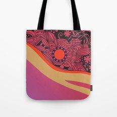 Rose gold square ornament Tote Bag
