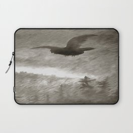 Stealth And Surprise Of The Night Owl Laptop Sleeve
