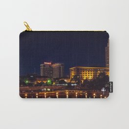 Waterplace Park Waterfire Lighting Nightscape- Providence, Rhode Island Carry-All Pouch