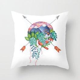 Plant Life Throw Pillow